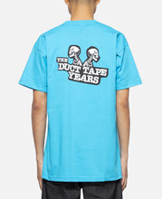 Double Header Skeleton T-Shirt (Blue)