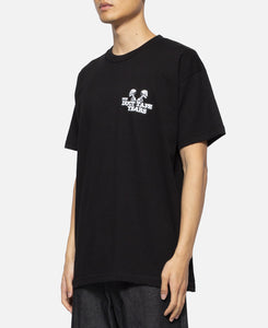 Double Header Skeleton T-Shirt (Black)
