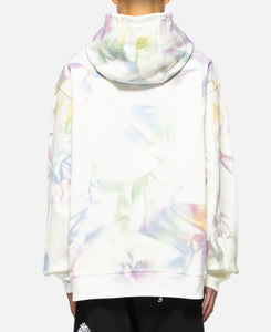 Shout PVC Patch Hoodie (White)