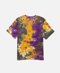Tie Dye S/S T-Shirt (Purple)