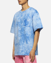 Pocket Tie Dye S/S T-Shirt (Blue)