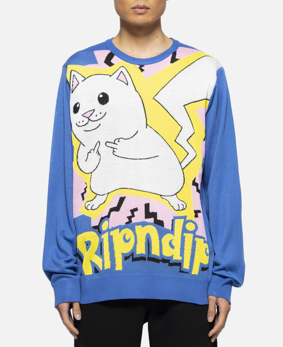 Catch'Em All Sweater (Blue)