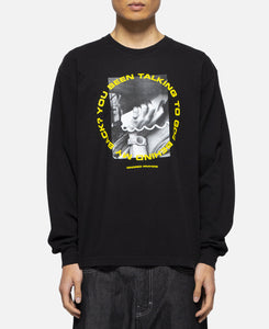 Talking 2 God L/S T-Shirt (Black)