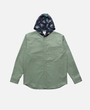 Hooded Shirt (Olive)
