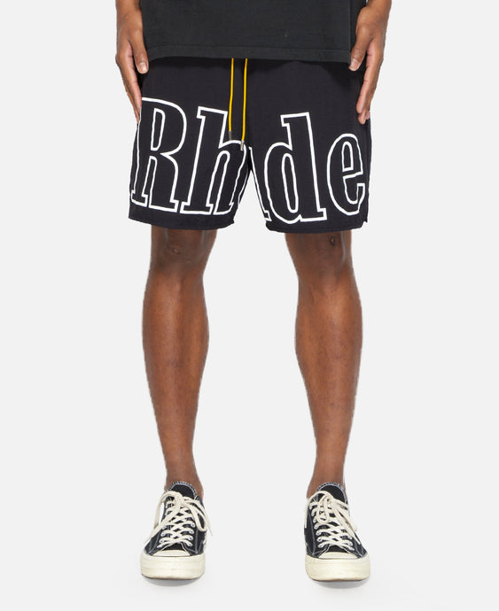 RH Swim Trunk (Black)