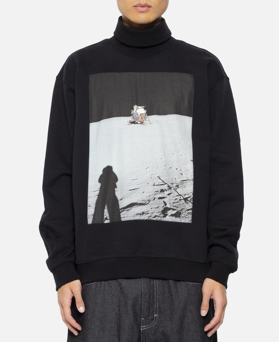 Moon Landings Roll Neck Sweatshirt