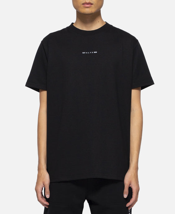 S/S T-Shirt Visual (Black)