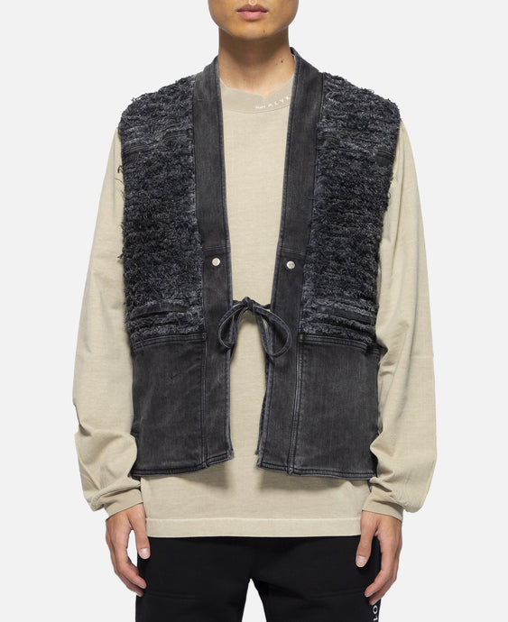 Blackmeans Denim Vest (Black)