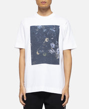 S/S T-Shirt With Print (White)