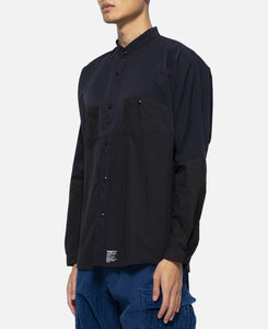 Oversized Side Zip Shirt