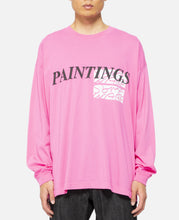 Paintings T-Shirt (Pink)