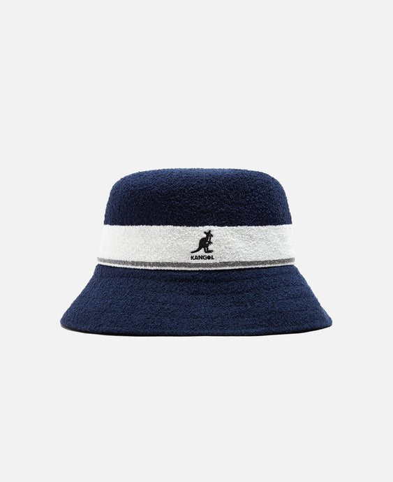 Bermuda Stripe Bucket Hat (Navy)