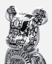 Be@rbrick H.R.Giger 1000% White Chrome Ver. (White)