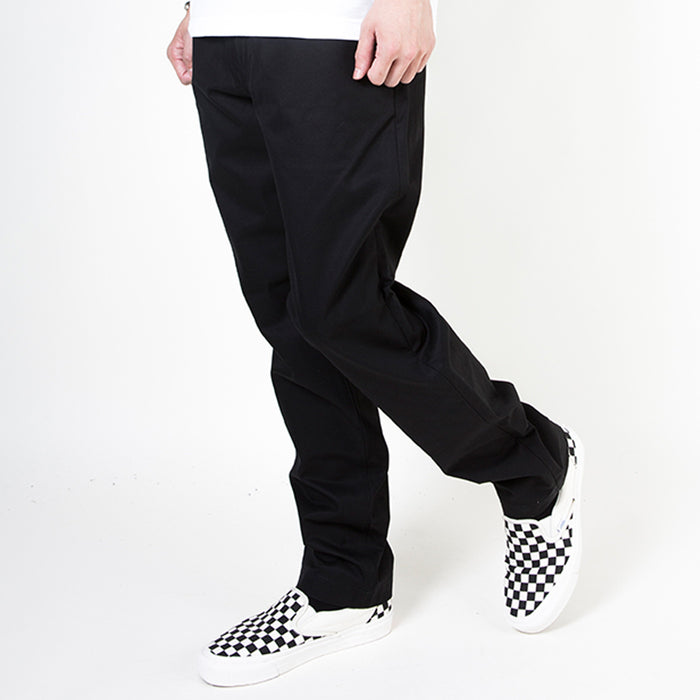 CHINO PANTS/CHECK (BLACK)