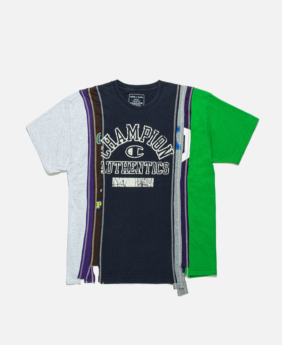 7 Cuts Wide College T-Shirt (Multi)