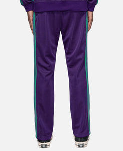 Poly Smooth Narrow Track Pants (Purple)