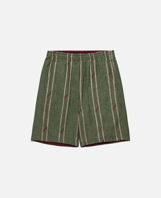 Rev. Basketball Short (Olive)