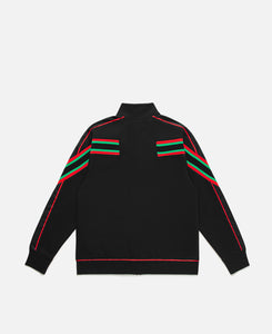 """Why Not?"" Track Jacket (Black)"