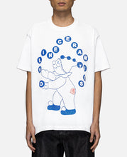 Anarchy Clown S/S T-Shirt (White)