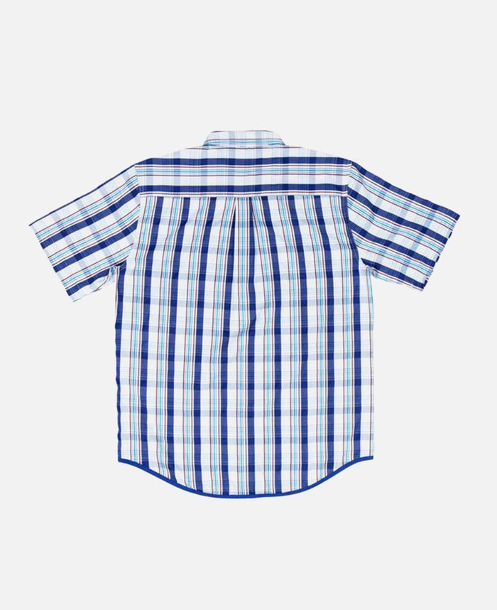PIPING CHECKER SHIRT
