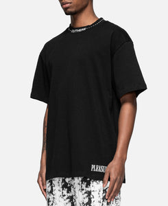 Cut Here Heavy Weight T-Shirt (Black)