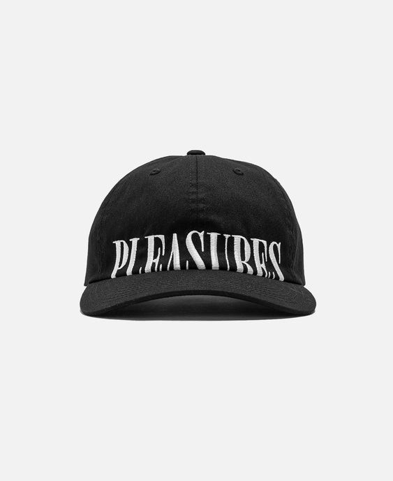 Dome Low Profile Snapback Hat (Black)