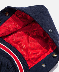 Patch Jacket (Navy)