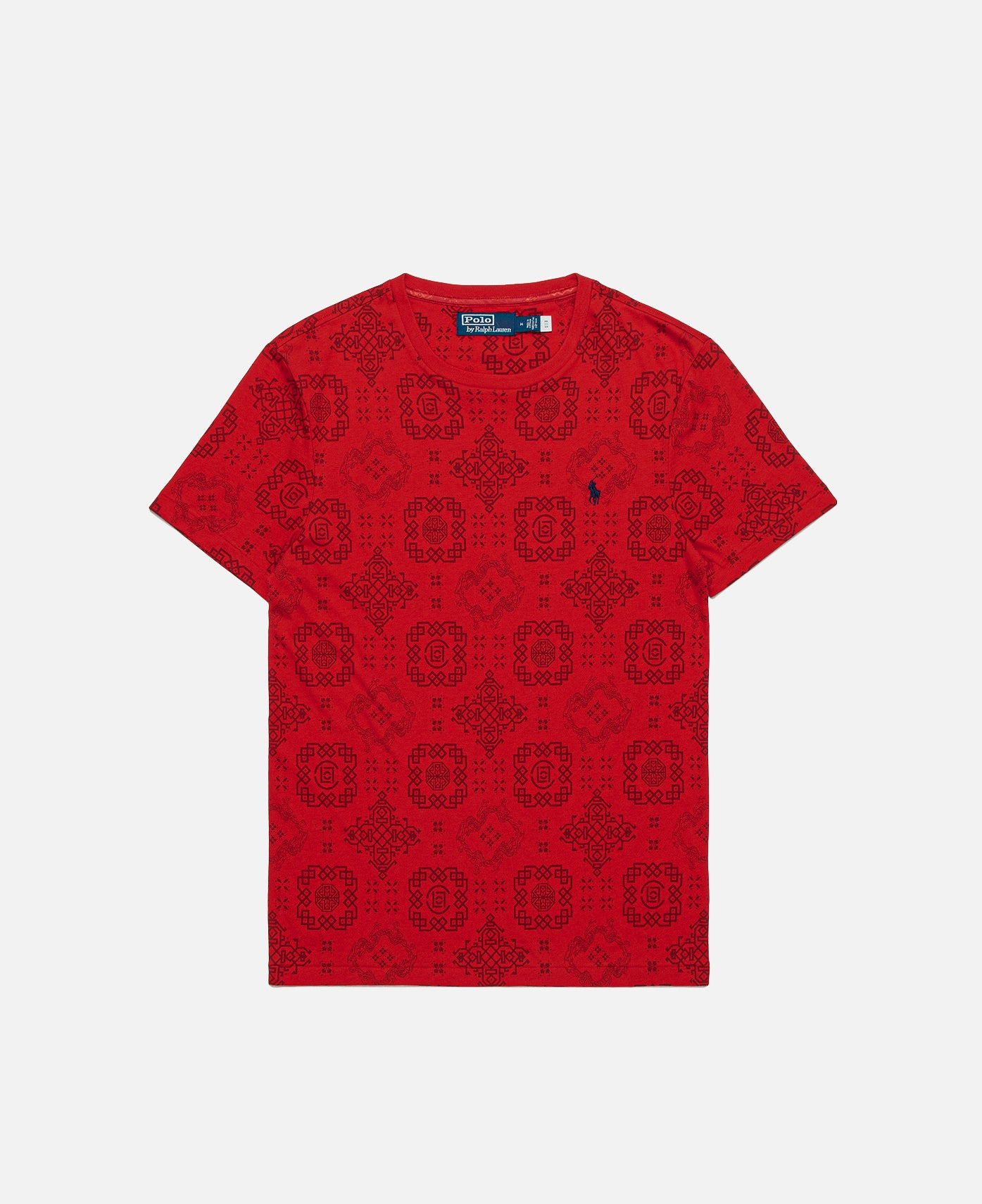 S/S CN T-Shirt (Red)