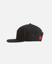 Emb Snap Back Cap (Black)