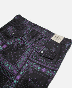 Bandana Bondage Pants (Purple)