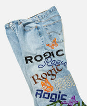 Embroidered 501 Jeans (Blue)