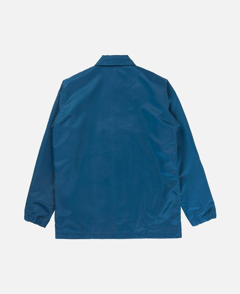 LONG FLIGHT SATIN JACKET (BLUE)