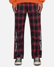 Chainstitch Flannel Sweatpants (Red)