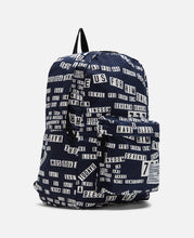 Fabrick Bumper Sticker Backpack (Navy)