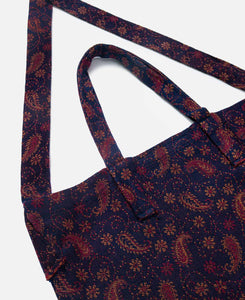 India Jq. Grocery Bag (Burgundy)