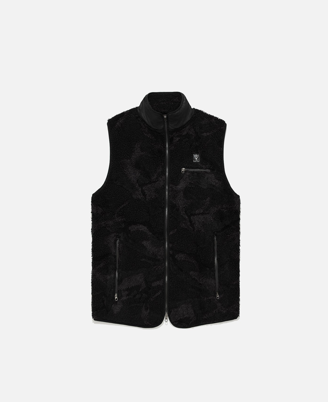 Boa Jq. Piping Vest (Black)