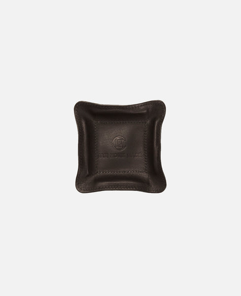 JHM LEATHER TRAY SMALL (BLACK)