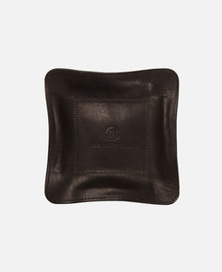 JHM LEATHER TRAY MEDIUM (BLACK)