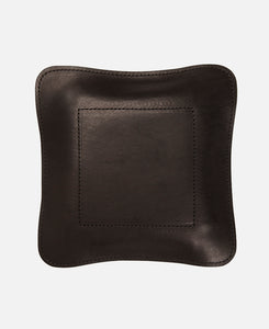 JHM LEATHER TRAY LARGE (BLACK)