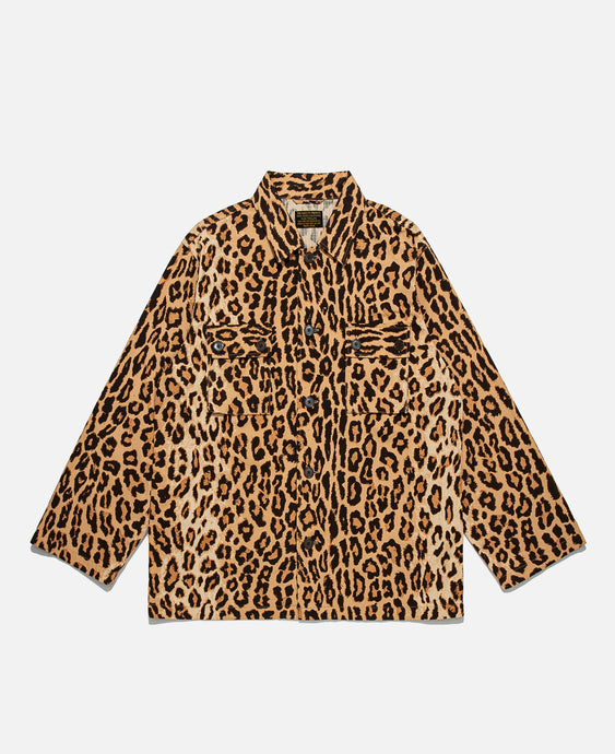 Leopard Army Type-2 Shirt (Beige)