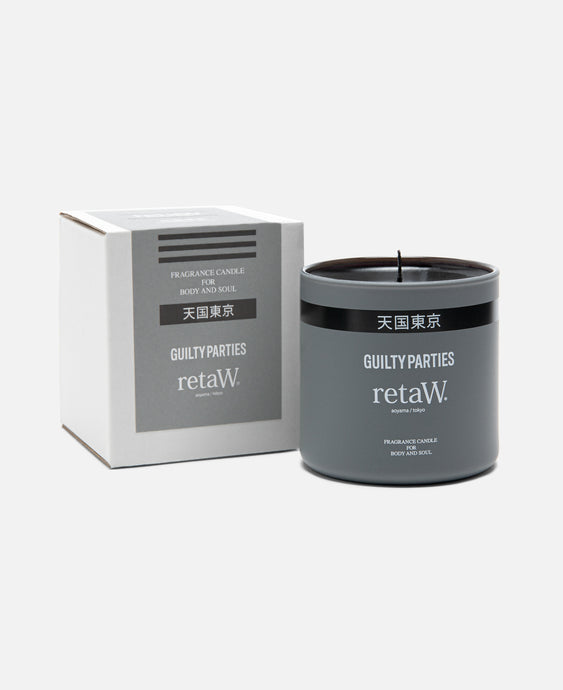 Retaw Fragrance Candle (Grey)