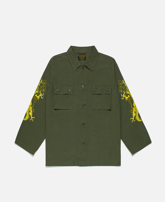 Tim Lehi Army Shirt (Type-1) (Olive)