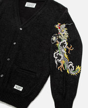 Tim Lehi / Mohair Cardigan (Black)
