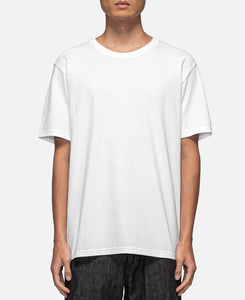 USA Body Crew Neck Type-3 T-Shirt (White)