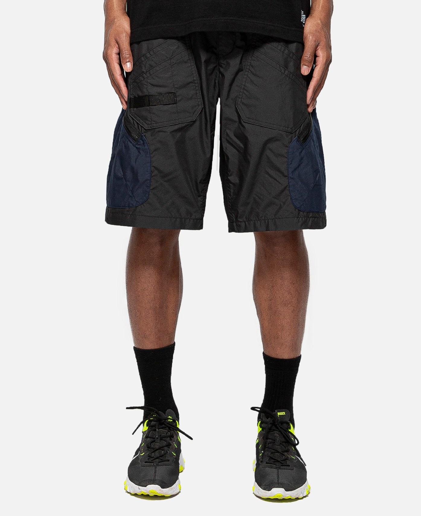 Cargo Short Pants (Black)