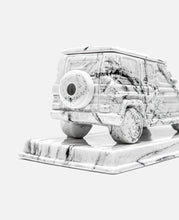The Marble G Wagon Incense Chamber (White)