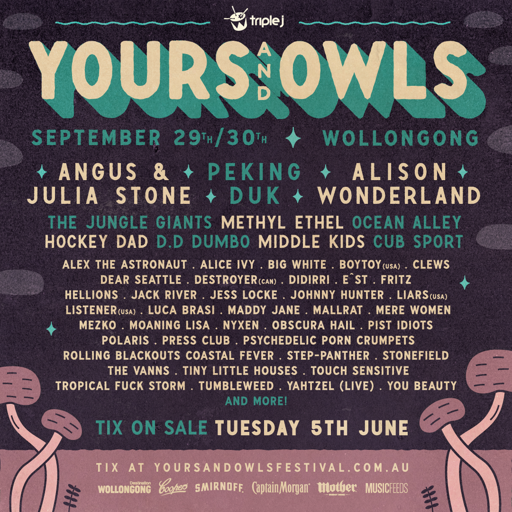 Yours & Owls drop epic festival line up