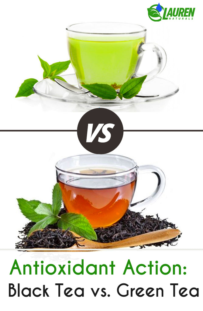Antioxidant Action: Black Tea vs. Green Tea