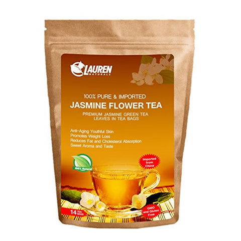 Jasmine Green Tea For Skin and Weight Loss