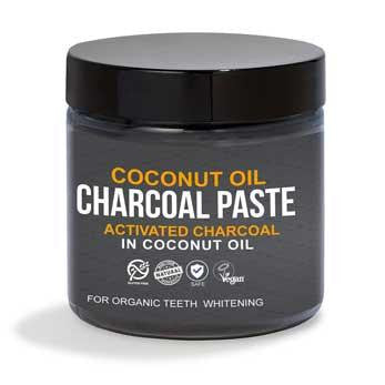 Activated Charcoal in Organic Coconut Oil for Teeth Whitening